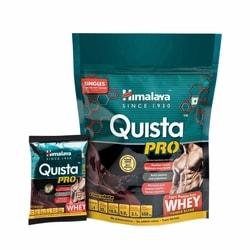 Himalaya Quista Pro Advanced Whey Protein Powder Travel Pack – 7 X 34 g (Chocolate)