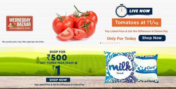 Big Bazaar Offers Today