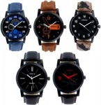 Codice Analogue Multicolor Dial Men's & Boy's Combo Of 5 Watch – Menswatcheslr-12358