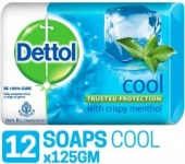 Dettol cool Soap – 125 g (Pack of 12)