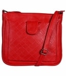 Fantosy women sling bag (Red)(FNSB-144)