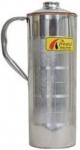 Frestol Copper/Steel Designer Water Bottle with Handle Serveware, Tableware Having Capacity 750 ML