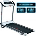 [ Live at 10 PM ] Healthgenie 4212PM Pre Installed Treadmill For Home Use, Flat Surface, 2.0 HP Motorized Compact Treadmill for Fitness