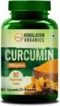 Himalayan Organics Curcumin with Bioperine, Organic Curcumin, 95% Curcuminoids (1300mg/serve) – 90 Count (1)