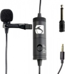 Industry Standard Sound ISSLM100 Lavalier Microphone (Black)