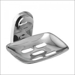 Kamal ACC-0971 Brass Soap Dish Holder (Silver)