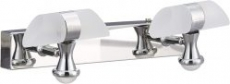 Lexton DL-II-26 Led Double Wall Lamp (Silver and White)