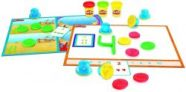 Play-Doh Academy Numbers and Counting Toy Activity Set for Toddlers with 3 Non-Toxic Play-Doh Colors, Ages 2 and Up