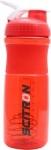 Scitron Plastic Blender Shaker Bottle with Stainless Blender Ball – 760 ml (Red)