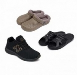 SVAAR Combo of Sports Shoes, Eva Slippers and Furr Clog Shoes