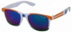 Silver Kartz Indian Patriotic UV Protected Wayfarer Unisex Sunglasses