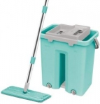 Spotzero by Milton Flat Mop (Aqua Green)