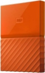WD My Passport 2 TB Wired External Hard Disk Drive  (Orange)