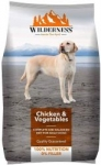 Wilderness Adult Dry Dog Food, Chicken and Vegetable – 3 kg Pack